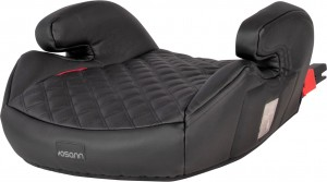 Junior Isofix z Gurtfix - Black Leather