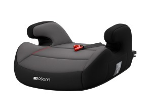 Junior Isofix z Gurtfix - Nero